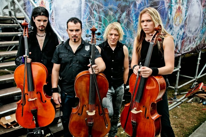 "APOCALYPTICA – UNE VIDEO POUR ""COLD BLOOD"" !"