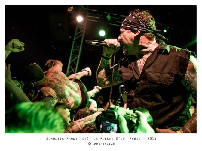 AGNOSTIC FRONT + WENDY'S SURRENDER @ LA FLECHE D'OR – 17/05/2015