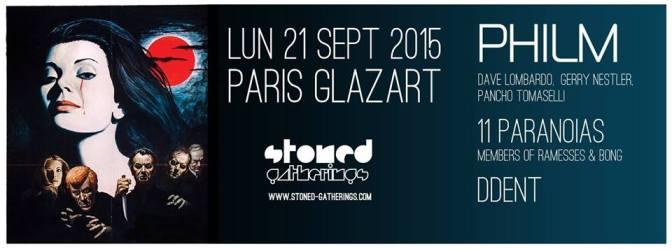 PHILM + GUESTS @ LE GLAZART – 21/09/15