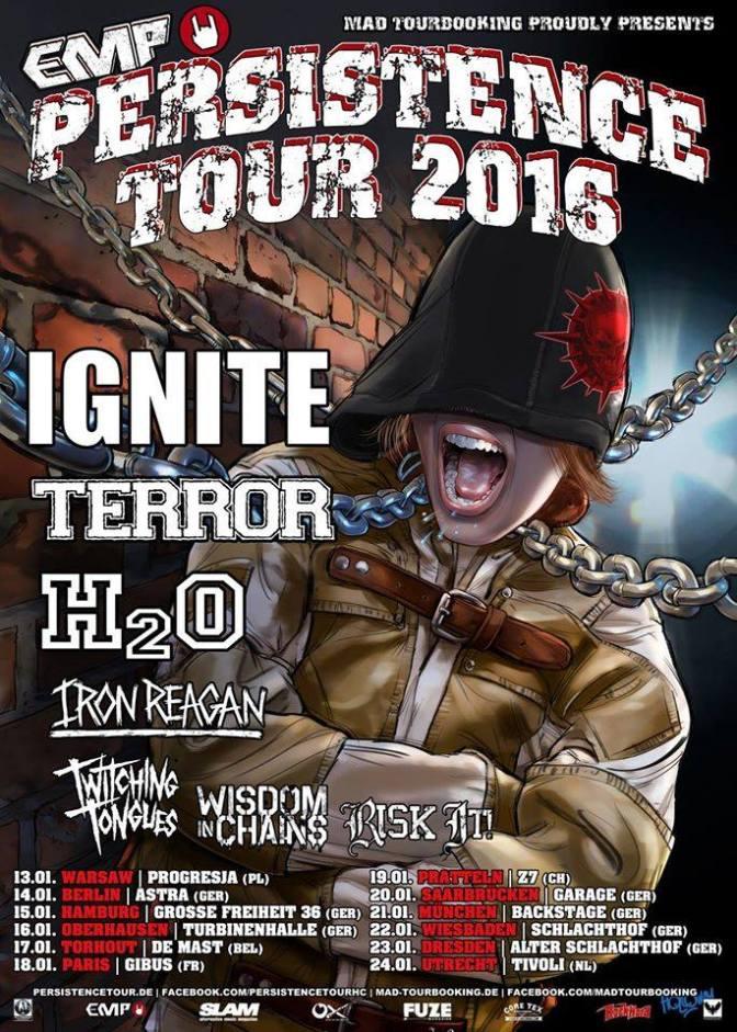 PERSISTENCE TOUR 2016 AU GIBUS !