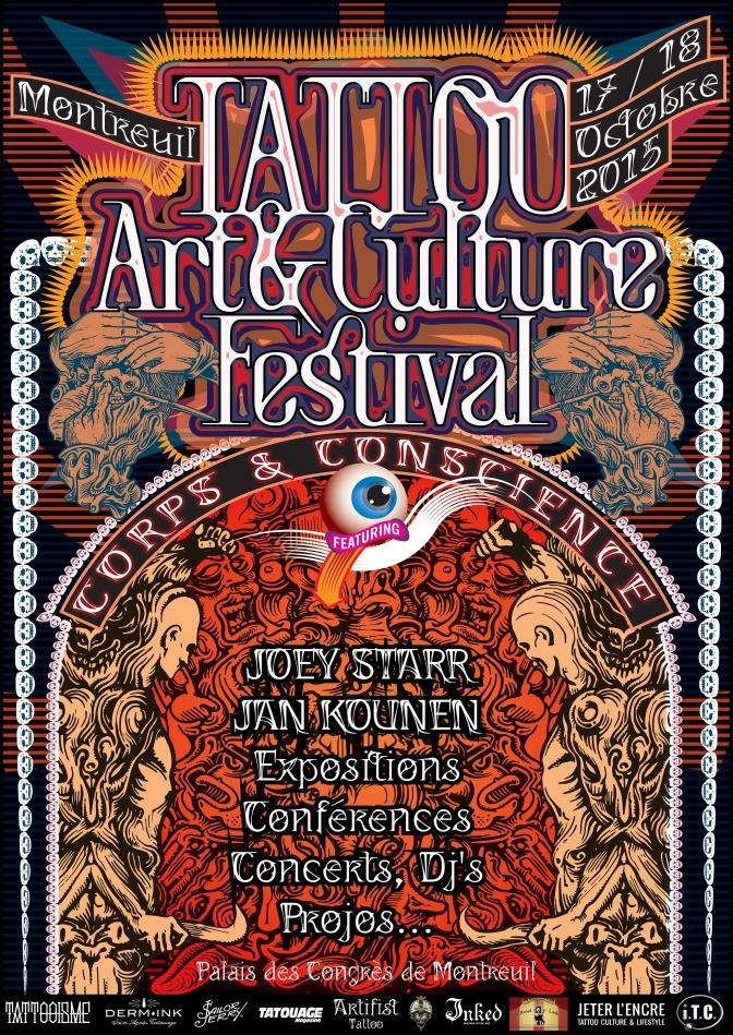 Tattoo, Art & Culture Festival, le rendez vous à ne pas manquer !