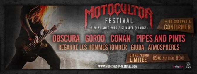Motocultor Festival – Première annonce