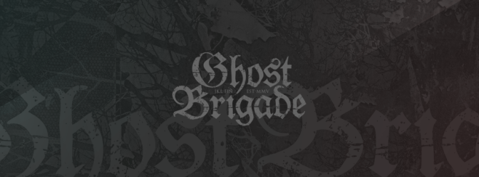 "UNE ""PAUSE INDEFINIE"" POUR GHOST BRIGADE"