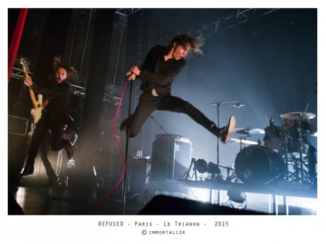 REFUSED + GUESTS @ LE TRIANON – 1/12/15