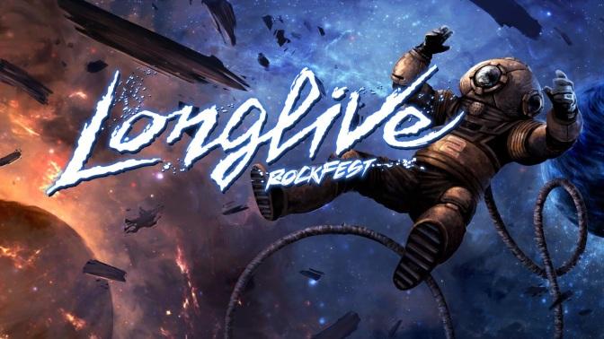 L'integralité de l'affiche du Longlive Rockfest