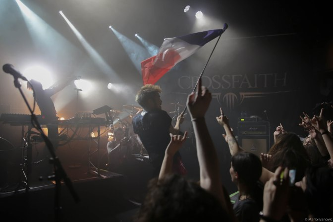 CROSSFAITH + THE ONE HUNDRED @ LE TRABENDO – 14/03/16