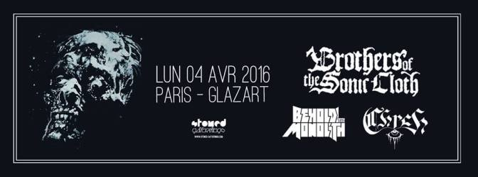 BROTHERS OF THE SONIC CLOTH + GUESTS @ LE GLAZART – 04/04/16