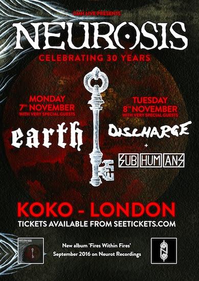 Neurosis UK Tour 2016