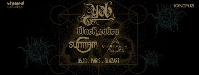 YOB+ BLACK COBRA + SUNNATA +AU DESSUS @ LE GLAZART – 05/10/16