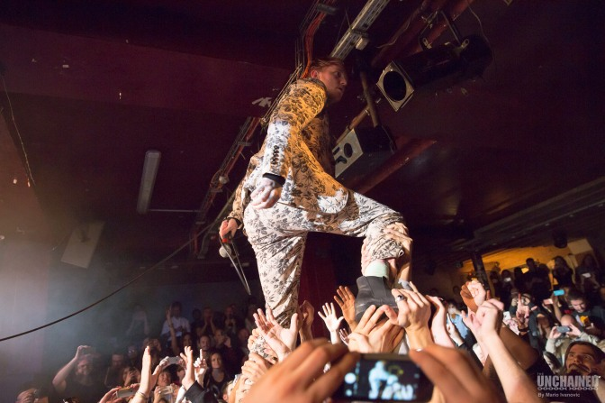 Frank Carter and The Rattlesnakes @ La Maroquinerie – 06/10/16