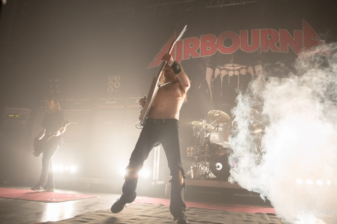 AIRBOURNE + GUEST @ LE TRIANON – 02/12/16
