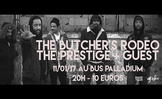 The Butcher's Rodeo + Guests @ Bus Palladium -11/01/2017