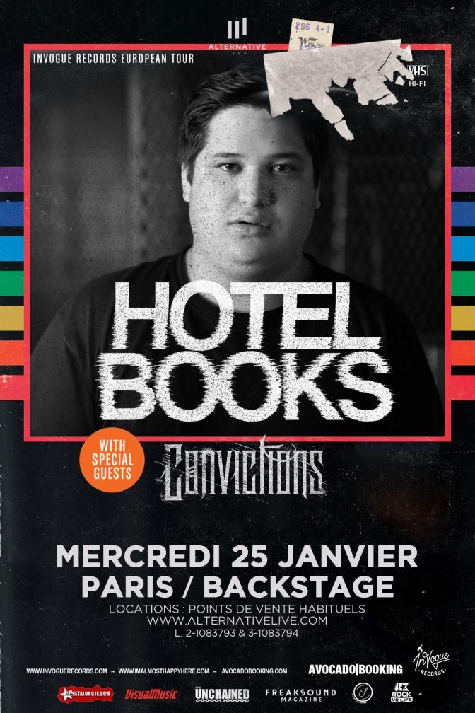 GAGNEZ VOTRE PLACE POUR HOTEL BOOKS A PARIS !