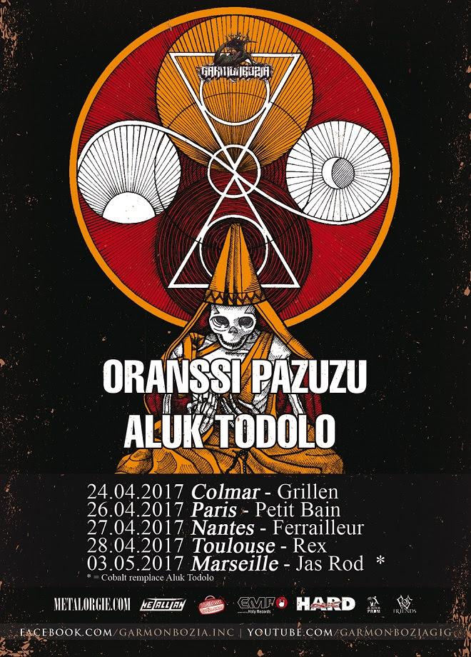 ORANSSI PAZUZU + ALUK TODOLO @ PETIT BAIN – 26/04/17
