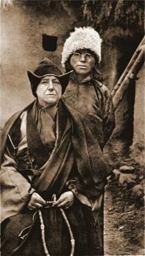 Alexandra David-Neel et Yongden