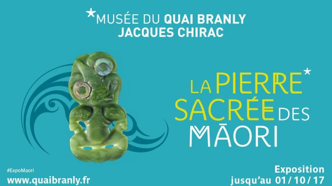 LA PIERRE SACREE DES MAORI- MUSEE DU QUAI BRANLY
