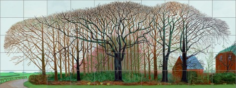 15Bigger Trees Near Warter or... 2007 Huile peinte sur 50 toiles © David Hockney photo Prudence Cuming Associates Collection Tate London