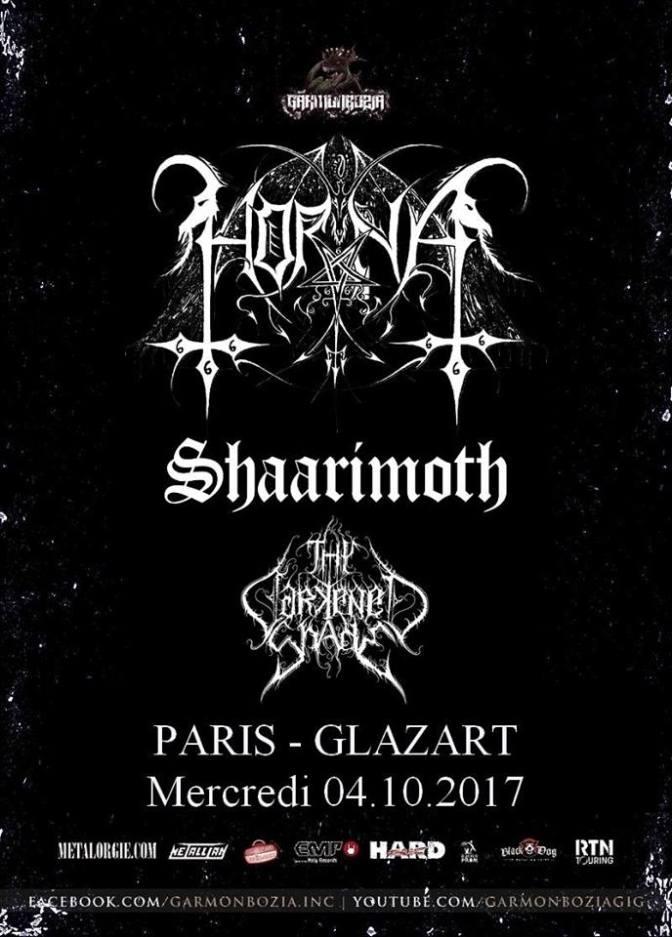 Horna + Guests @ Glazart -04/10/2017