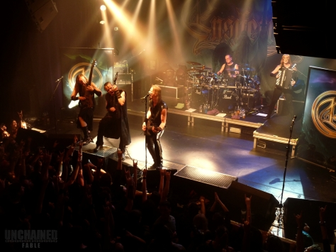 Ensiferum having fun