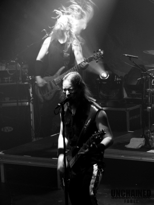 Ensiferum Sami on fire