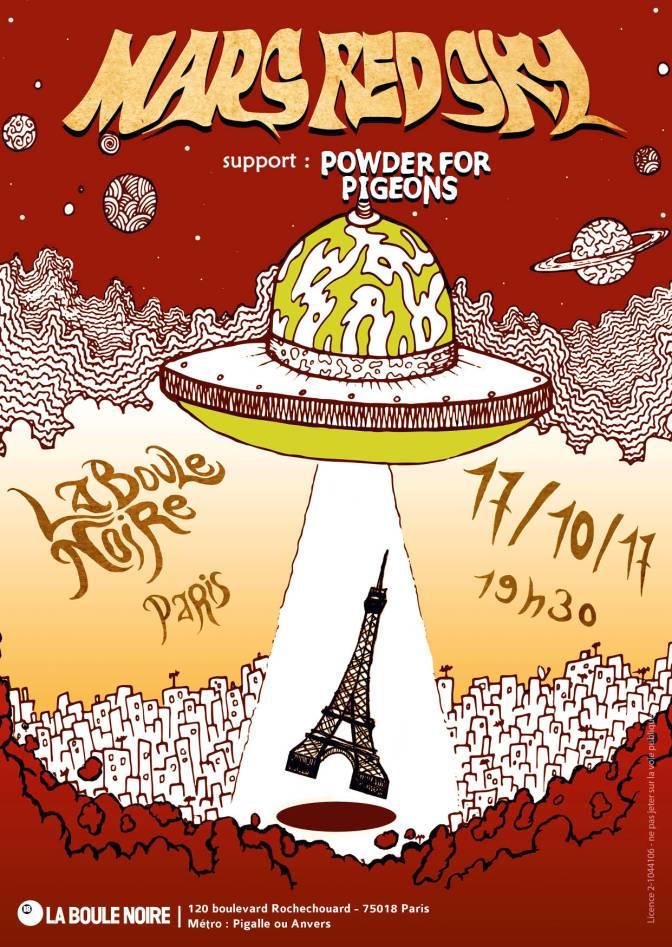GAGNEZ VOS PLACES POUR MARS RED SKY LE 17 OCTOBRE A PARIS