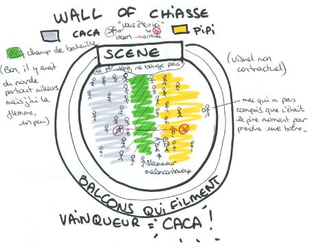wall of chiasse
