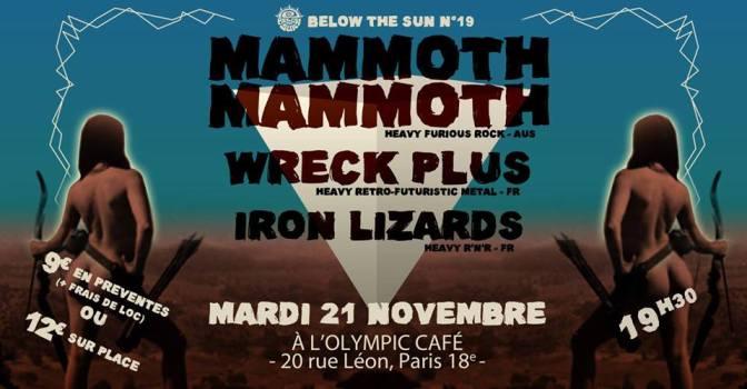 GAGNEZ VOS PLACES POUR MAMMOTH MAMMOTH A PARIS