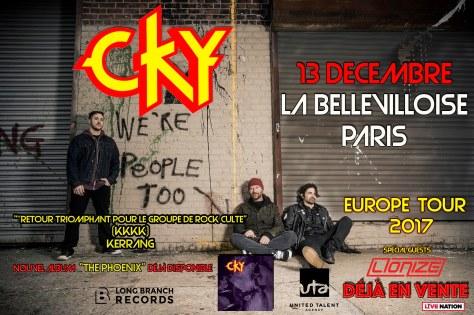 CKY - LA BELLEVILLOISE, 13 décembre 2017