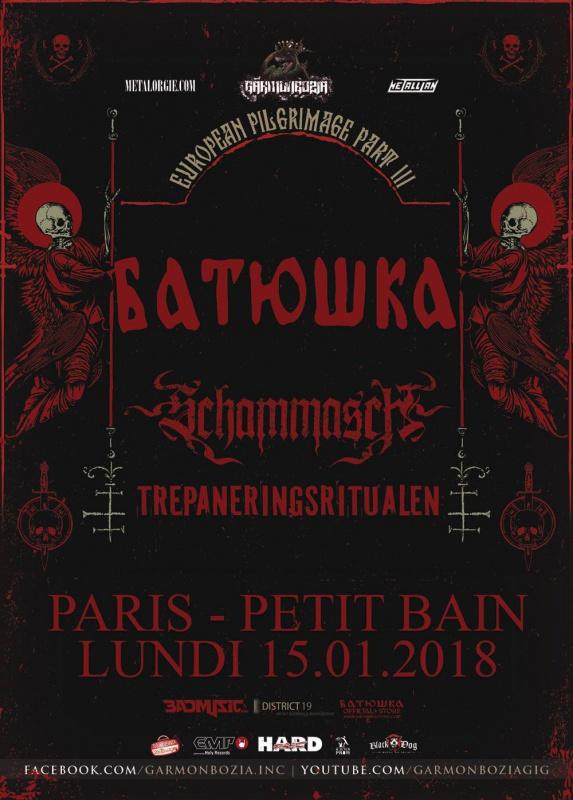 Batushka & guests @ Petit Bain (15/01/2018)