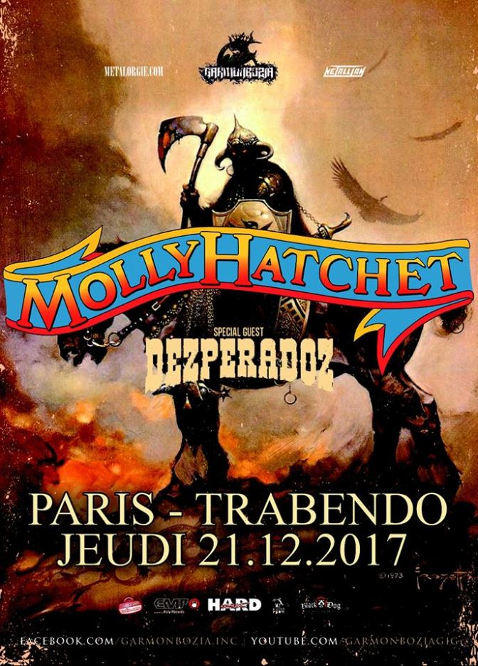 Molly Hatchet & guest @ Trabendo –  21/12/2017