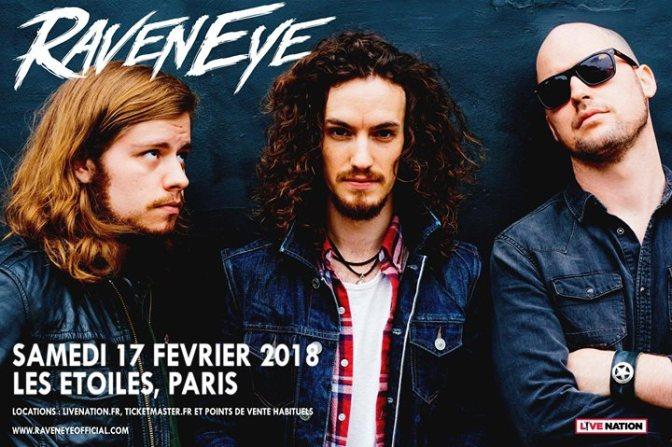 GAGNEZ VOS PLACES POUR RavenEye A PARIS!!!