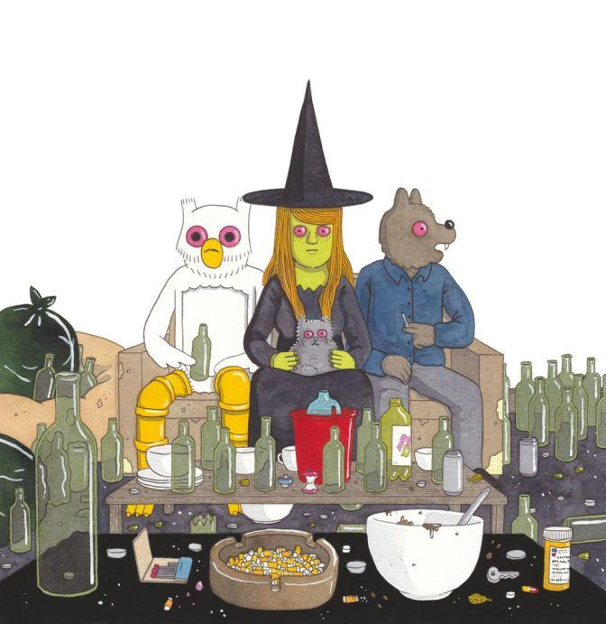 BD – « Megg, Mogg & Owl » de Simon Hanselmann