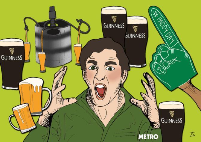 Top 2.5 x 2 : Quand c'est la St-Patrick