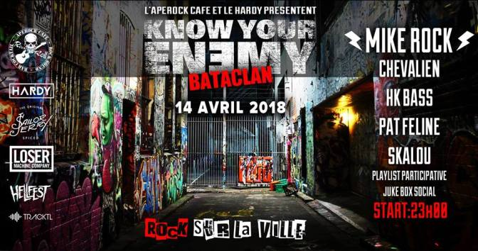 GAGNEZ VOS PLACES POUR LA SOIREE KNOW YOU ENEMY AU BATACLAN !!