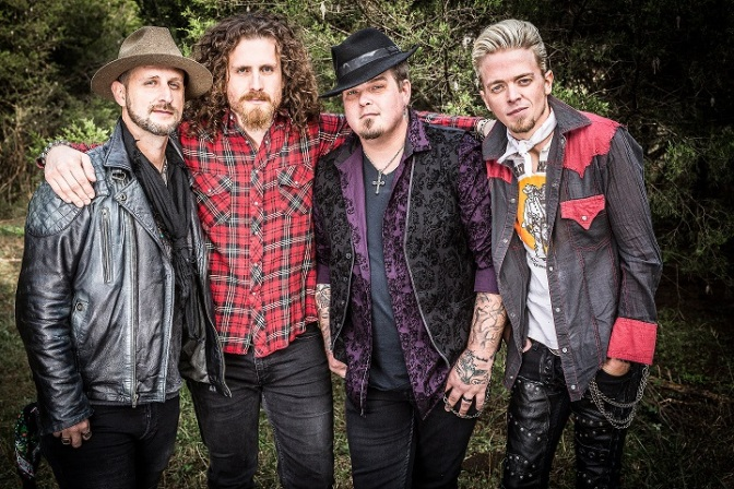 BLACK STONE CHERRY – Family Tree