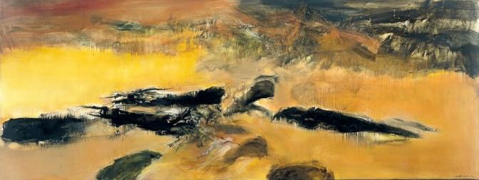Musée d'Art Moderne de la ville de Paris – Zao Wou-Ki – L'espace est silence