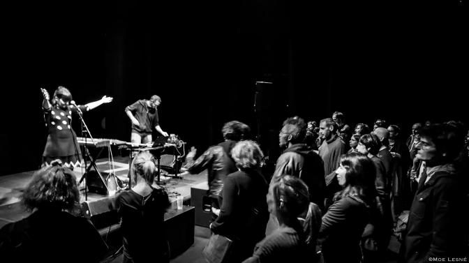 Semaine du Bizarre à Montreuil,  Performance Expérimentale/Expérience d'Étrangeté.