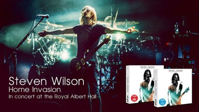 STEVEN WILSON – HOME INVASION : IN CONCERT AT THE ROYAL ALBERT HALL (LIVE)